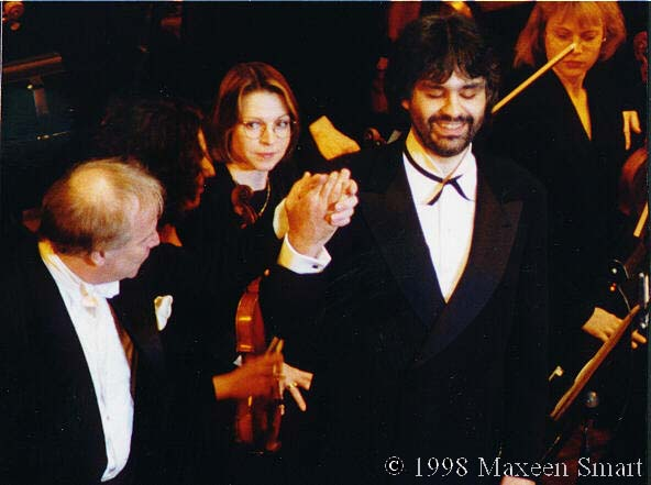 April 19, 1998, Kennedy Center, Washington DC - (c) Maxeen Smart