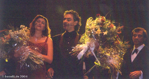 Wembley. 7. 11. 2004 mit Paola Sanguinetti und Marcello Rota, photo thanks to Astrid