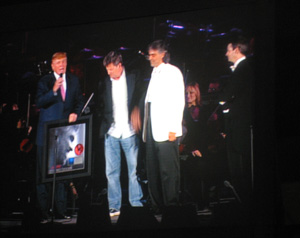 Hollywood Bowl,m June 11, 2006, with David Trump, David Foster and Steven Mercurio, thanks  to Barbara