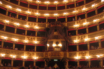 Neapel, Teatro San Carlo, thanks to Jack!