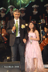 Cinema Tribute Concert, 20.7.08, with Charice,  thanks to Annie!