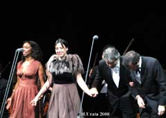 Tokio, 17.4.08, mit Heather Headley, Maria Luigia Borsi und Marcello Rota - thanks to Mr. H. Urata