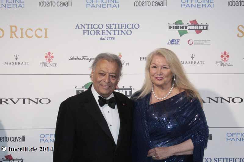 Zubin Mehta and wife N...